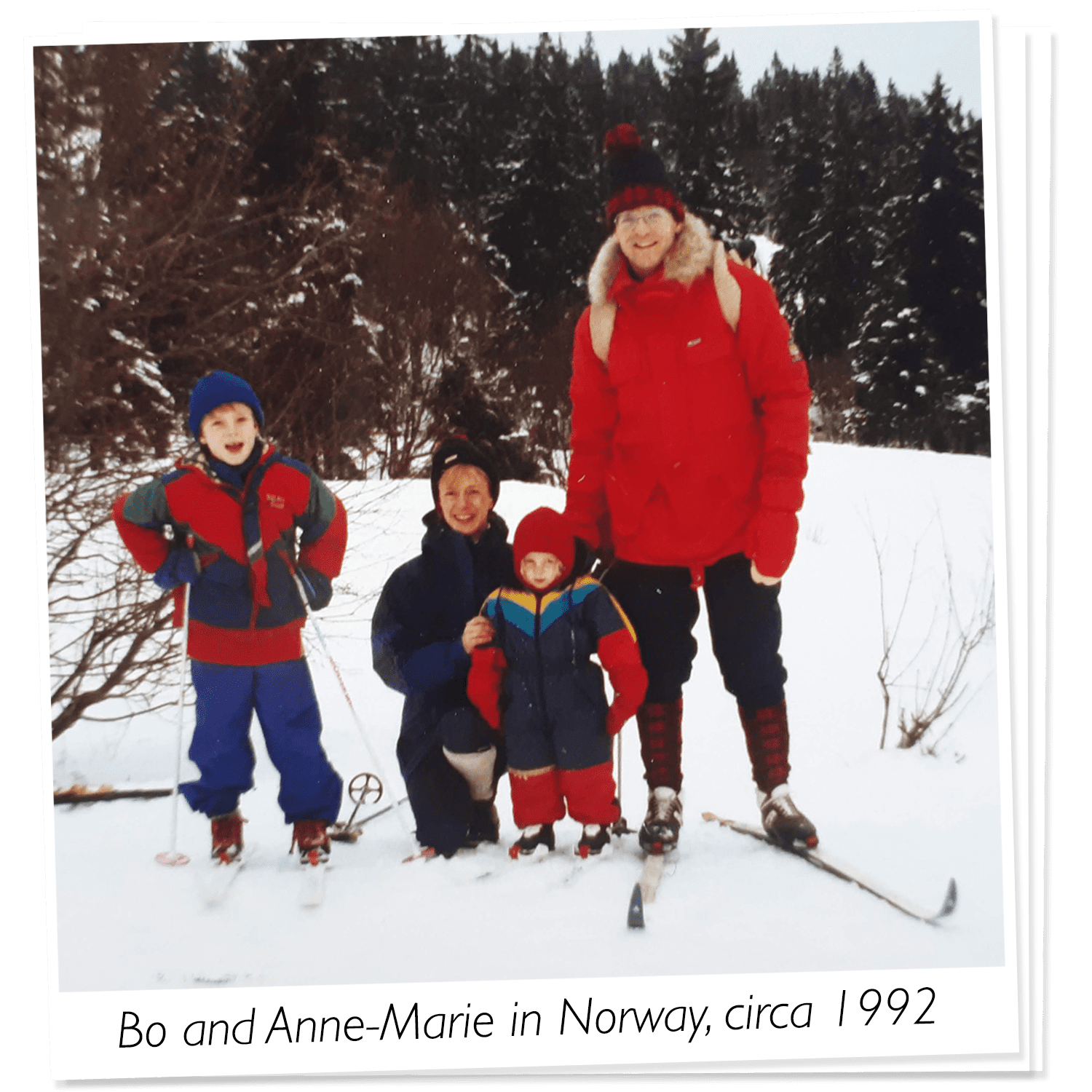 About Us | Co-Founders in Norway, Circa 1992